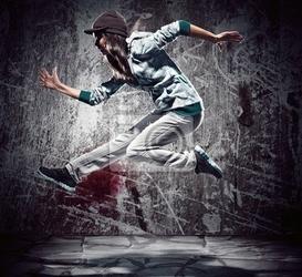 Plakat taniec miejski