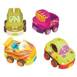 B.toys autka miękkie - zestaw 4 szt
