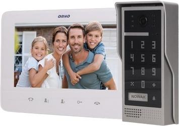 Wideodomofon or-vid-vp-1055w z szyfratorem dico 7 orno biały - możliwość montażu - zadzwoń: 34 333 57 04 - 37 sklepów w całej polsce