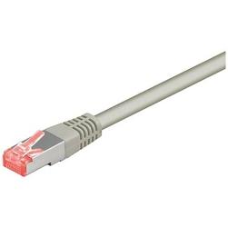 FTP patchcord SFTP patchcord, Cat.6, RJ45 M-2m, chroniony, LSOH, szary, economy