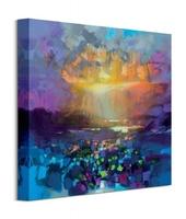 Liquid skye - obraz na płótnie