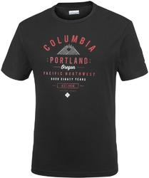 T-shirt męski columbia leathan trail em0729010
