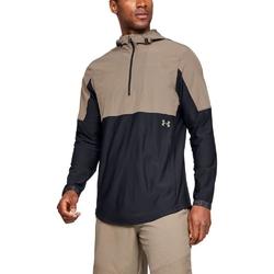 Kurtka męska ua vanish hybrid jacket - brązowy