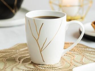 Kubek do kawy i herbaty porcelanowy altom design magnific 300 ml biały
