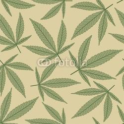 Fotoboard na płycie marihuana pozostawia we wzorze