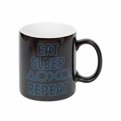 Playstation Eat Sleep Repeat - magiczny kubek