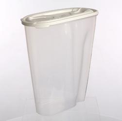 Pojemnik na przyprawy i artykuły sypkie: mąkę, płatki lub makaron tontarelli nuvola dispenser 3 l biały