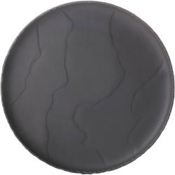 Talerz płaski 21 cm, porcelanowa imitacja czarnego łupka basalt revol rv-654180-4