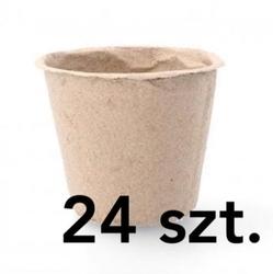 Doniczki torfowe – 8x8x8 cm – 24 szt.