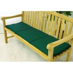 Poduszka trzyosobowa do ławki ogrodowej,  zielona