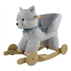 Bujak husky z fotelikiem i kołami