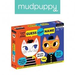 Mudpuppy gra zgadnij kto to koty i psy