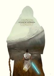 Gwiezdne wojny skywalker. odrodzenie - star wars the rise of skywalker- plakat premium wymiar do wyboru: 40x60 cm