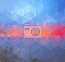 Naklejka abstract tło geometryczne