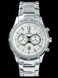 Męski zegarek PERFECT - MURANNO zp136a - silver