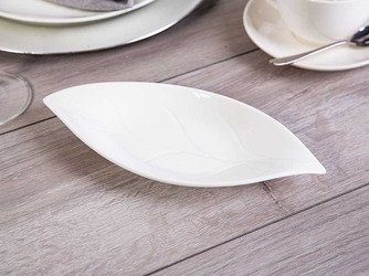 Naczynie  półmisek porcelana altom regular owalne liść 24 cm