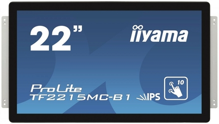 IIYAMA 22 TF2215MC-B1 POJ.10PKT,PIANKA,TN,DP,HDMI