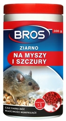 Bros, ziarno na myszy  i szczury, 300g