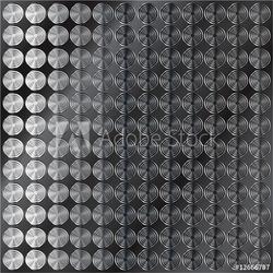 Obraz na płótnie canvas ciemne metalowe tło z wzorem koła