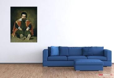 portret sebastiana de morry - diego velazquez ; obraz - reprodukcja