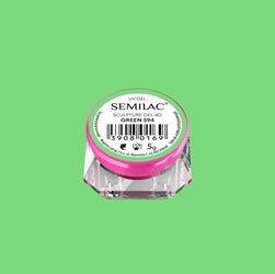 Semilac żel strukturalny 594 sculpture gel 4d green 5 g