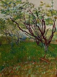 The flowering orchard, vincent van gogh - plakat wymiar do wyboru: 29,7x42 cm