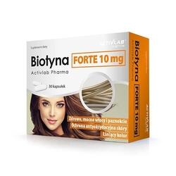 Activlab pharma biotyna forte 10 mg 30 caps