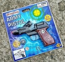 Pistolet na spłonkę kapiszony 8-ki metalowy