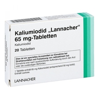 Kaliumiodid lannacher 65 mg tabl.