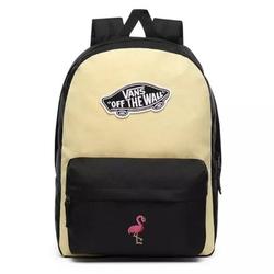 Plecak vans realm golden haze-black custom flamingo - vn0a3ui6v5g