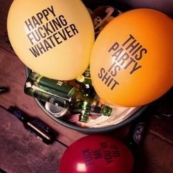 Niegrzeczne balony imprezowe