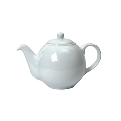 Dzbanek do herbaty 1,5 l biały Globe London Pottery