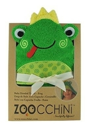 Ręcznik mały z kapturkiem - żabka