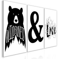 Obraz - willderness and love kolekcja