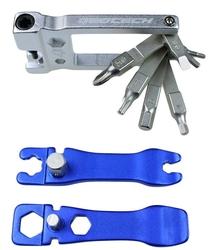 Klucz wielofunkcyjny geotech ght-033 zestaw, korpus aluminiowy