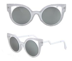 Okulary przeciwsłoneczne zig zag szare - szare