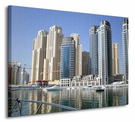 Dubai Marina Buildings - Obraz na płótnie
