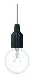 Lampa wisząca LP Fitting 230V czarna