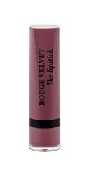 Bourjois paris the lipstick rouge velvet pomadka dla kobiet 2,4g 17 from paris with mauve