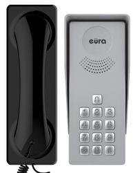 Domofon eura adp-37a3 ingresso nero - 1-rodzinny, kaseta zewnętrzna z szyfratorem - szybka dostawa lub możliwość odbioru w 39 miastach