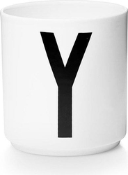 Kubek porcelanowy aj litera y