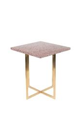Zuiver stolik luigi kwadratowy ciemnoczerwony 2300186