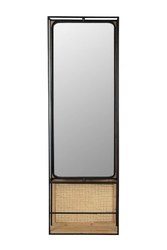 Dutchbone :: lustro langres rozmiar l czarne