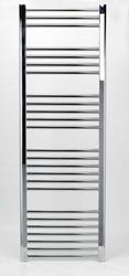 Grzejnik łazienkowy york - wykończenie proste, 600x1700, chromowany