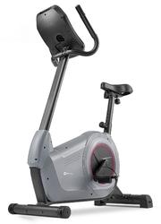 Rower elektromagnetyczny hs-100h solid szary z matą - hop sport