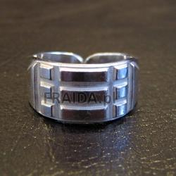 Pierścień atlantów srebrny