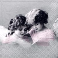 Serwetka do decoupge vintage 33x33 cm