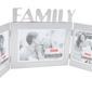 Ramka na trzy zdjęcia family prezent z grawerem