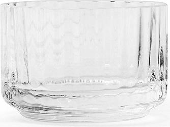 Świecznik szklany Lyngby Clear