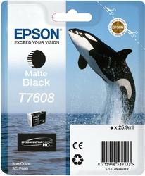 Epson T7608 Ink Cartridge Matte Black UltraChrome HD